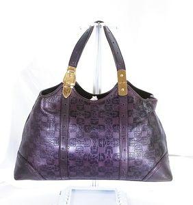Gucci Horsebit Large Dark Purple